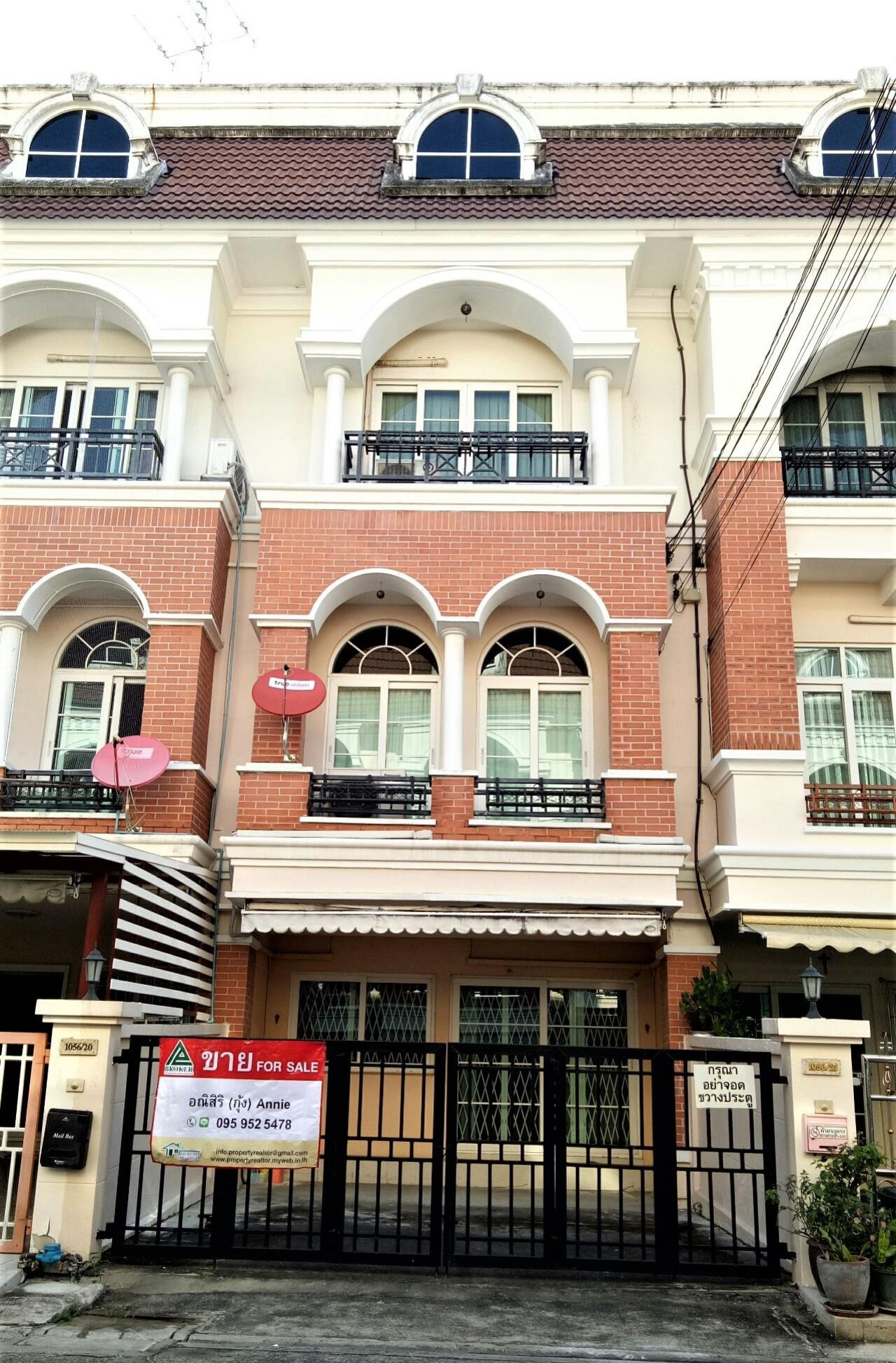 Agent - Anisiri Agency's Homeoffice for sale at Ramkamheang road, near MRT orange line 2