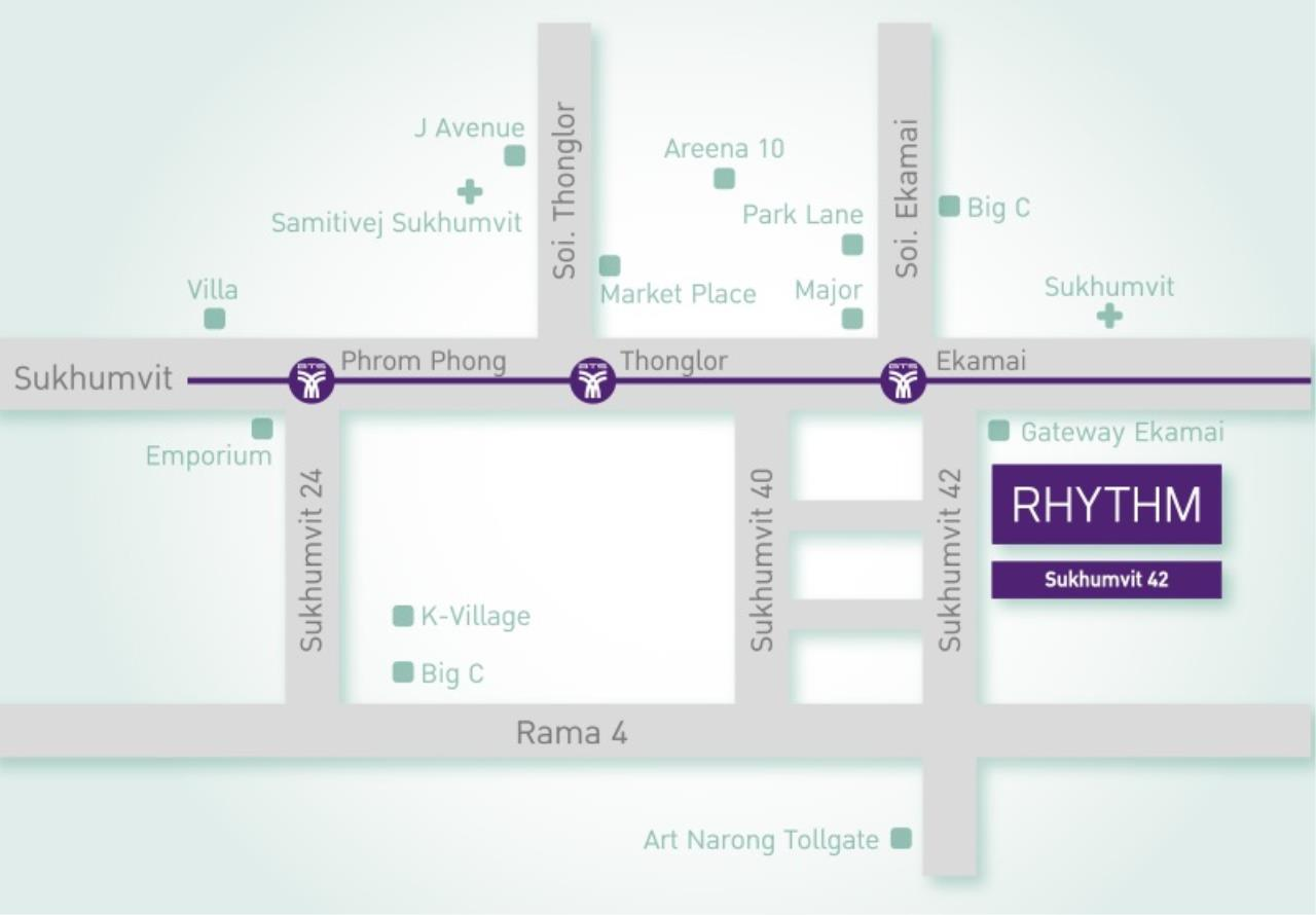 All Living Real Estate Co., Ltd Agency's Rhythm Sukhumvit 42 1