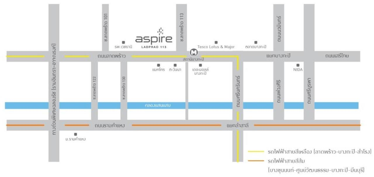 All Living Real Estate Co., Ltd Agency's  Aspire Ladprao 113 8