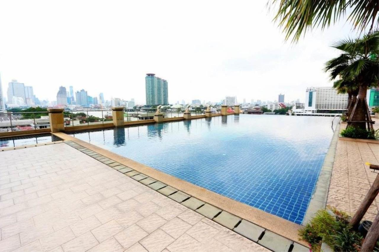 RE/MAX BestLife Agency's Supalai River Place Sale/Rent Studio Charoen Nakohn 3