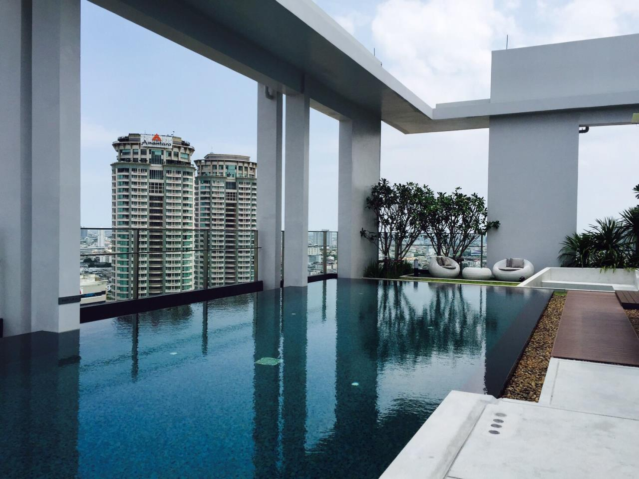 RE/MAX BestLife Agency's Rhythm Sathorn Narathiwas, Rent 1 Bedroom Chong Nonsi 8