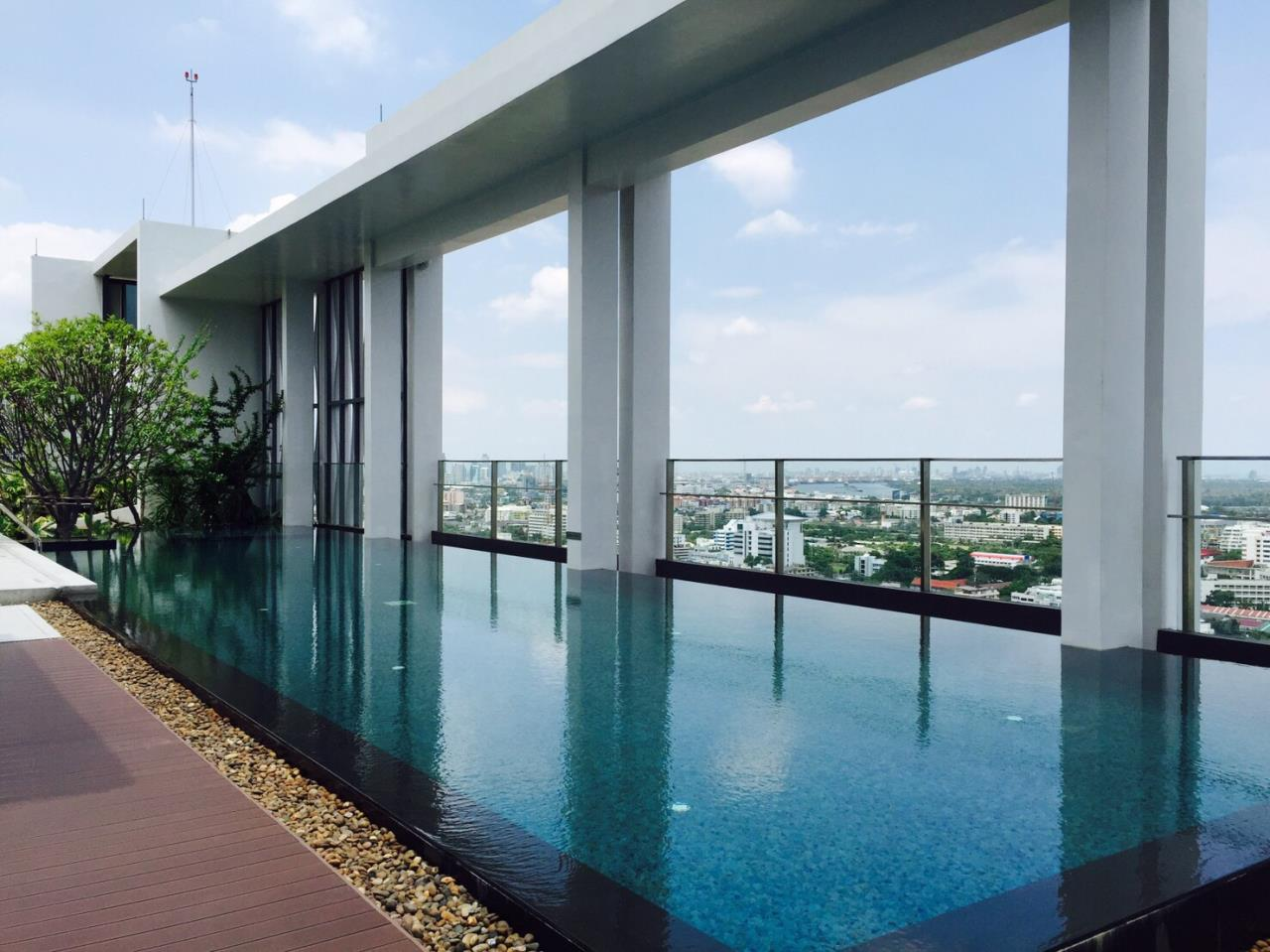 RE/MAX BestLife Agency's Rhythm Sathorn Narathiwas, Rent 1 Bedroom Chong Nonsi 10