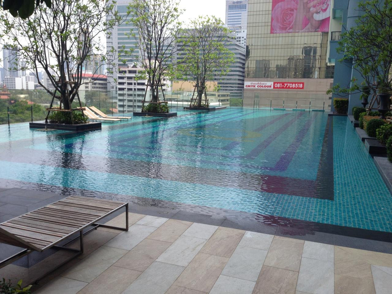 RE/MAX BestLife Agency's Q Asoke Rent 1 Bedroom Petchaburi 9
