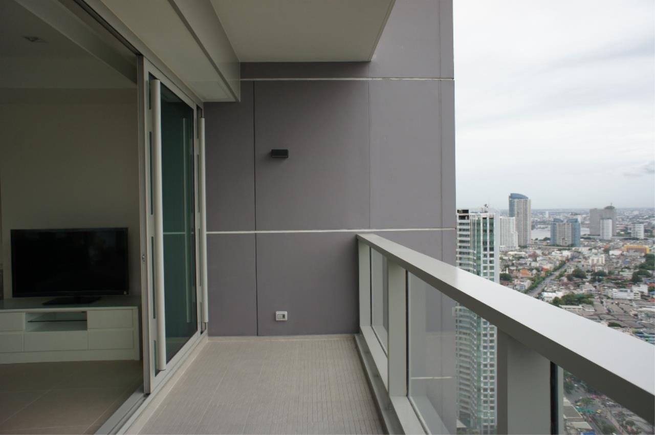 BKK BestLife Real Estate Agency's The River Condo Rent 2 Bedrooms Charoen Nakohn 6