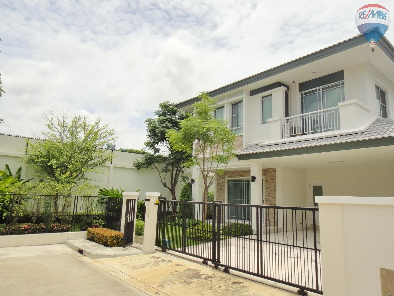 RE/MAX BestLife Agency's Nantawan Srinakarin Land and House for sale 3 bedroom 3 bathroom 64 sq.wah 168 sqm. 1