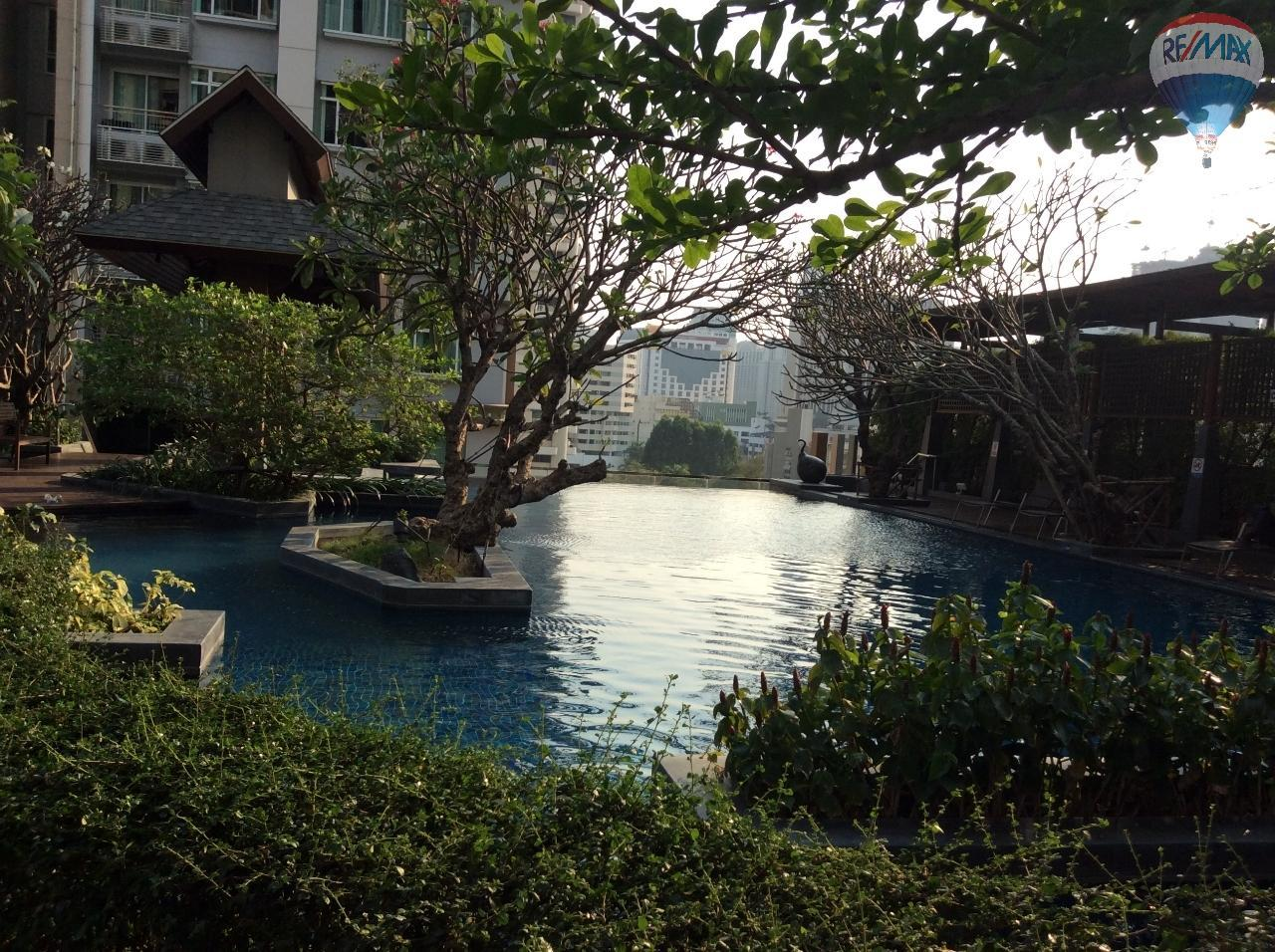 RE/MAX BestLife Agency's Sale Circle Petchaburi 1bedroom 47sqm. swiming pool view  19