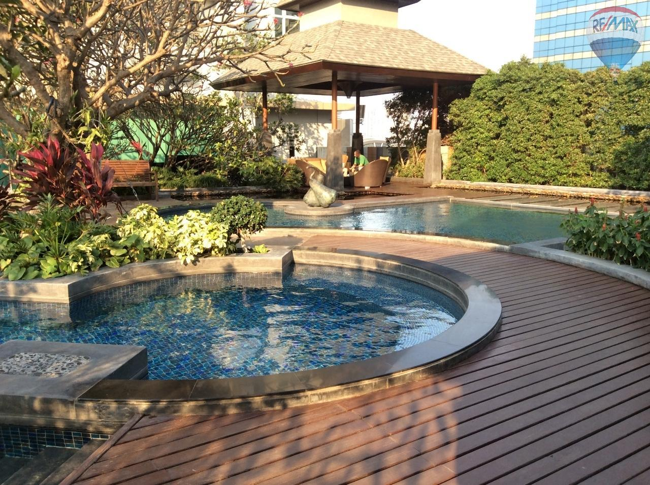 RE/MAX BestLife Agency's Sale Circle Petchaburi 1bedroom 47sqm. swiming pool view  23