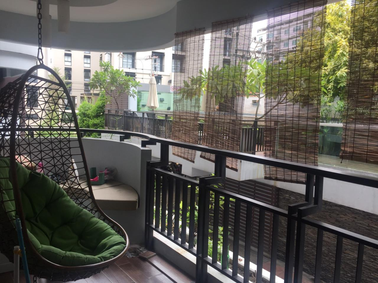 BKK BestLife Real Estate Agency's Next Garden Suites Rent 1 Bedroom On Nut 9
