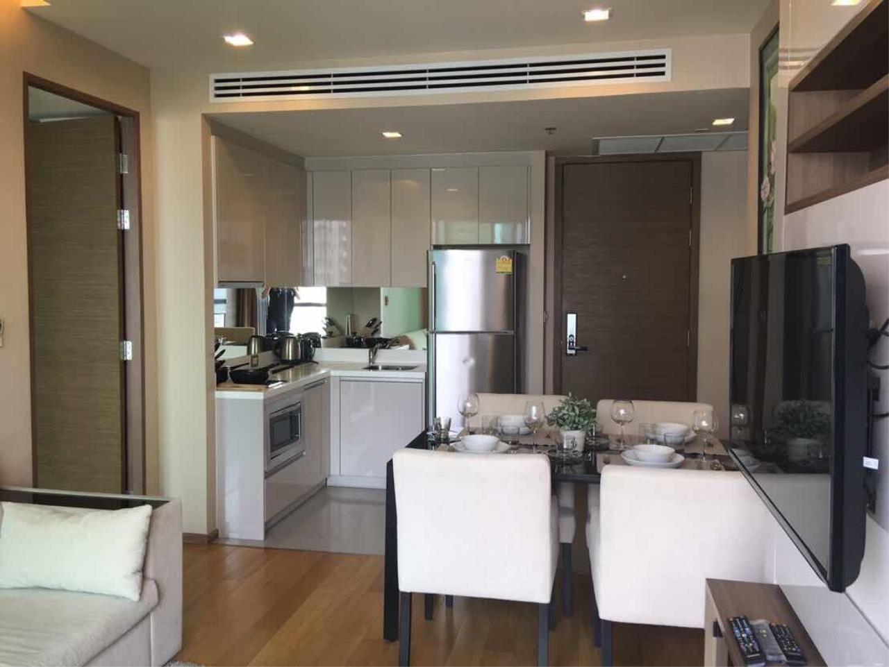 BKK BestLife Real Estate Agency's The Address Sathorn Rental 2 Bedrooms 3
