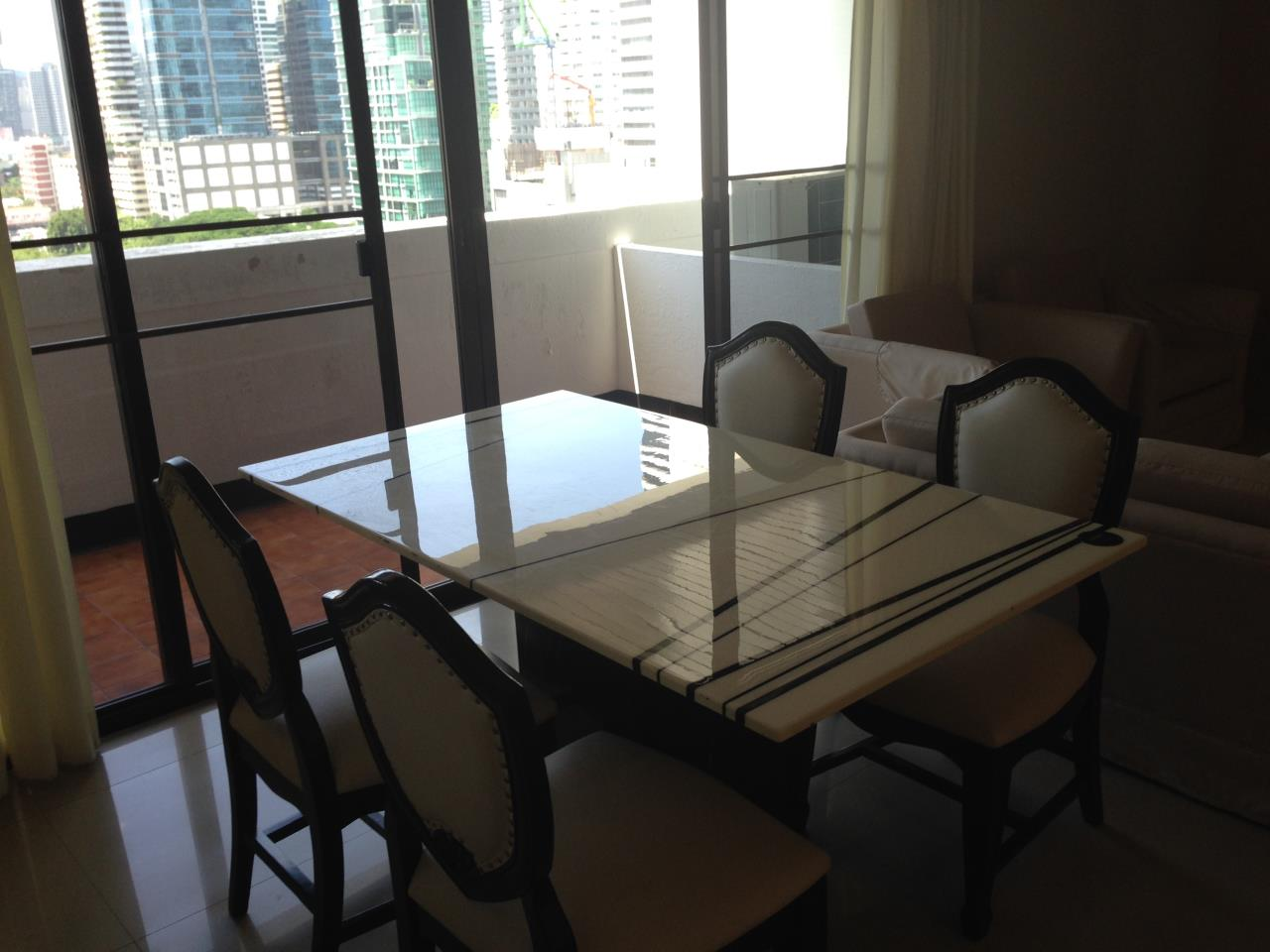 BKK BestLife Real Estate Agency's Shiva Tower Rent 2 Bedrooms Nana 4