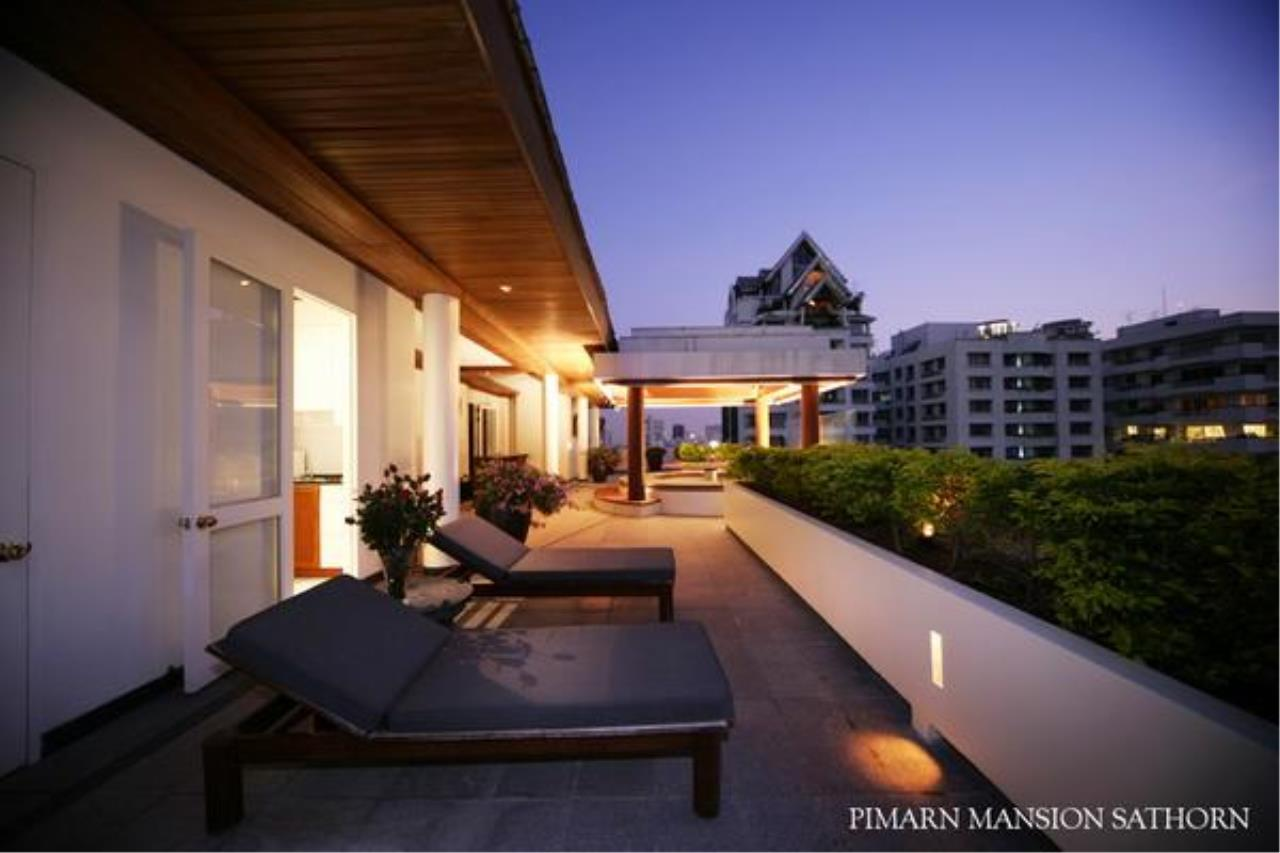 BKK BestLife Real Estate Agency's Pimarn Mansion 3+1 bedroom for rent Sathorn  6