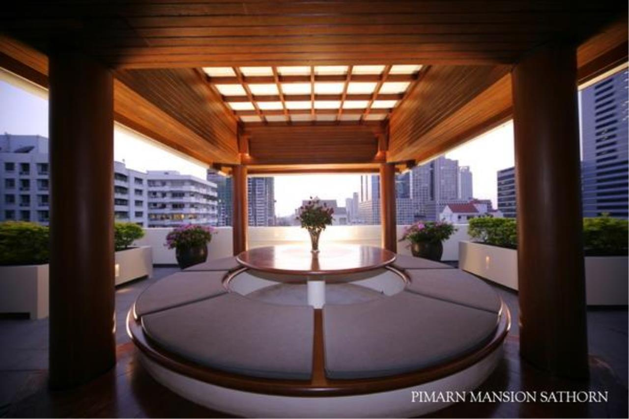 BKK BestLife Real Estate Agency's Pimarn Mansion 3+1 bedroom for rent Sathorn  7