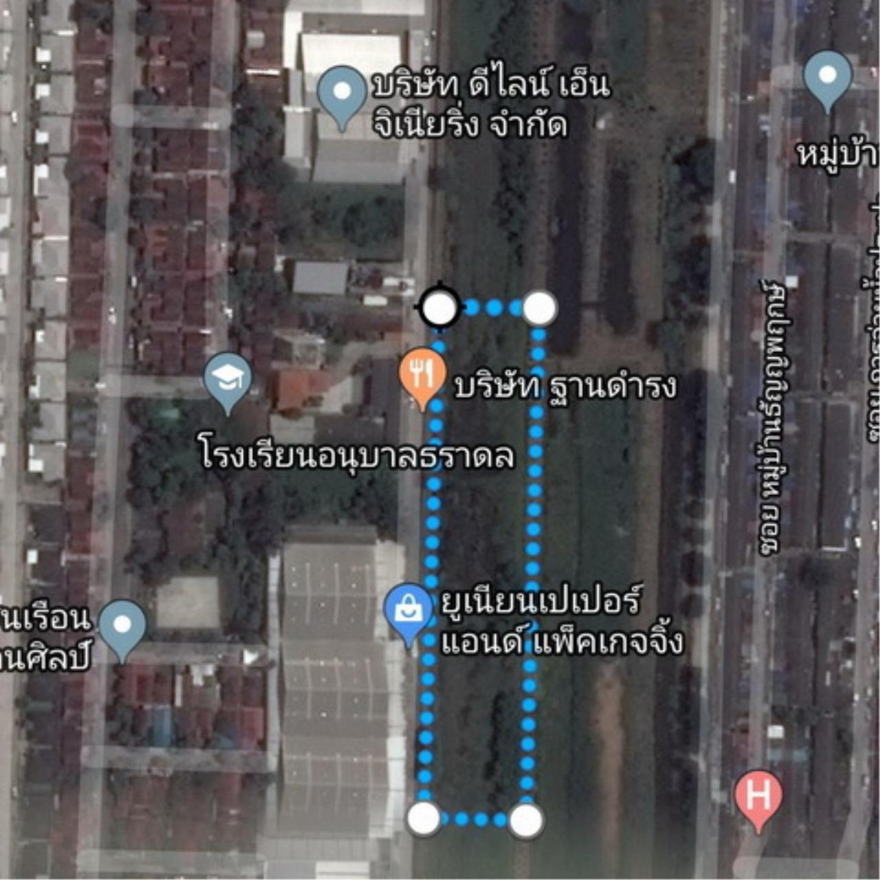 The Agent Property Agency's Klong 7 near Sarasas Vimai Rangsit, Lam Prakan, Pathum Thani, Rangsit-Nakhon Nayok area of 3 rai 2 ngan 84 sqw. Good location, community, market and factory. All apartments in the dorm. 1