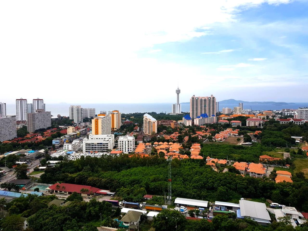 Immobilien Pattaya Agency's SUPALAI MARE, PATTAYA, 1 BEDROOM, 45 SQM., SEA VIEW, HIGH FLOOR 17