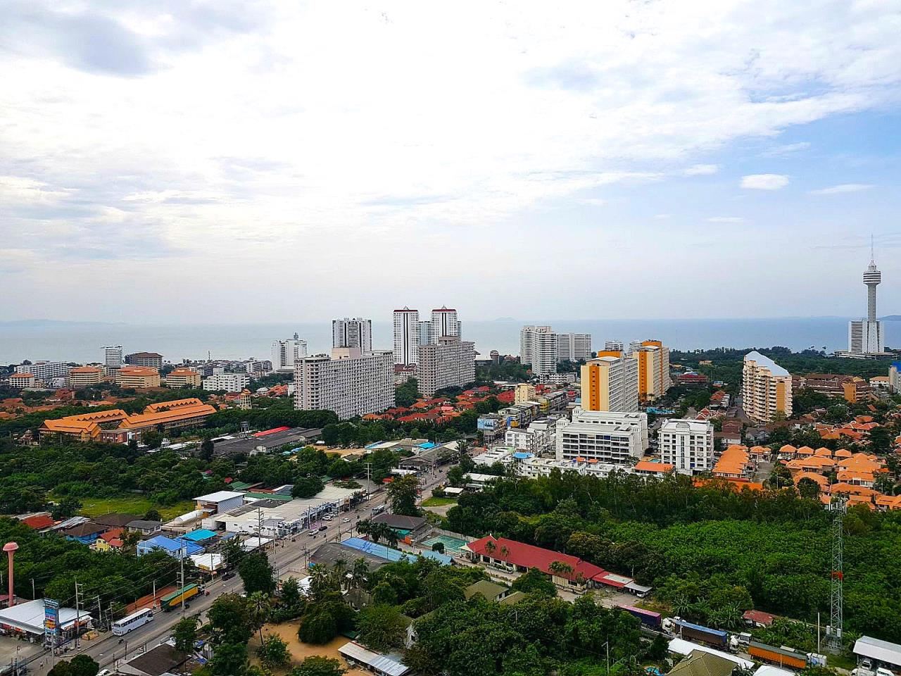 Immobilien Pattaya Agency's SUPALAI MARE, PATTAYA, 1 BEDROOM, 45 SQM., SEA VIEW, HIGH FLOOR 18