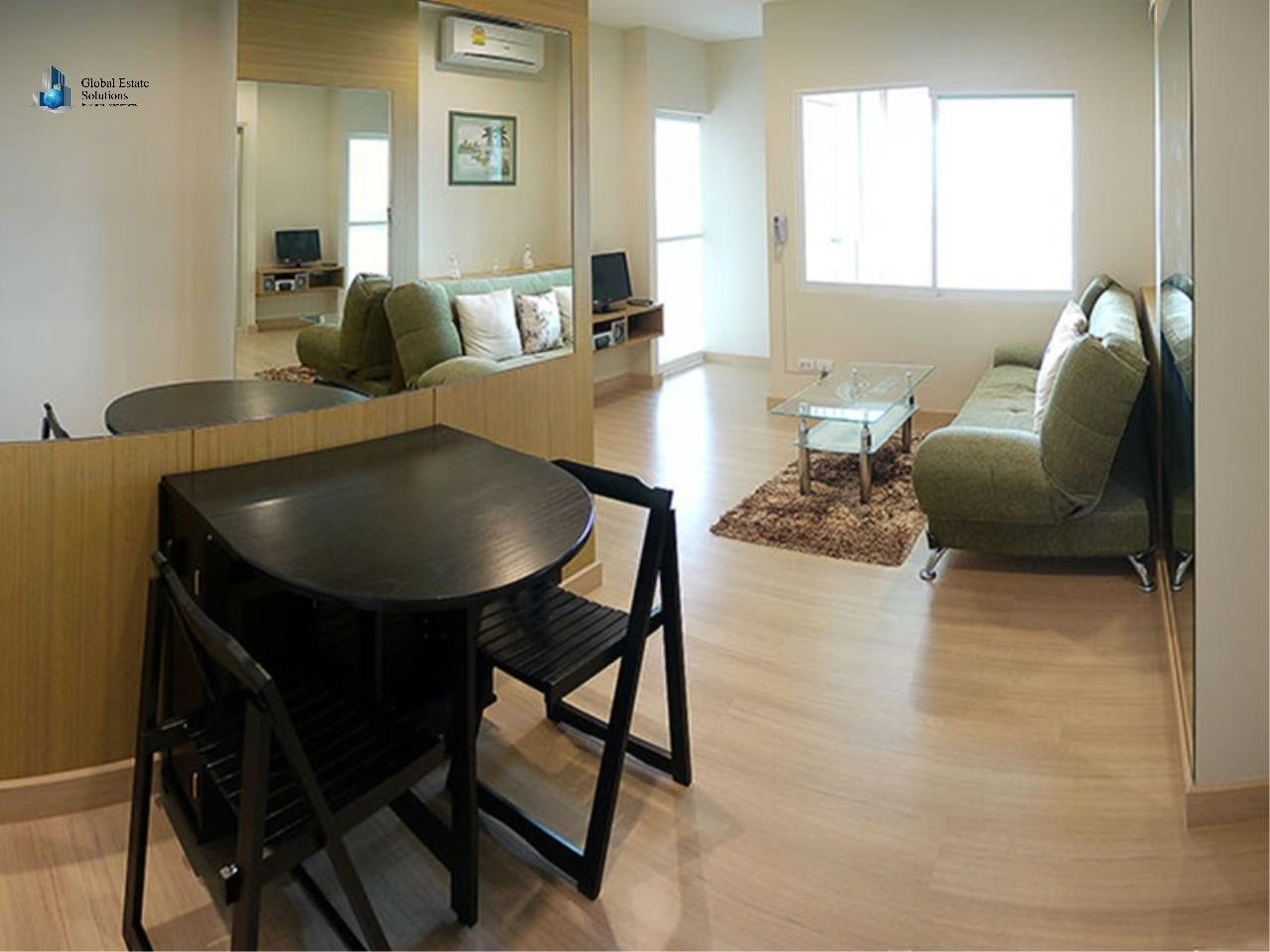 Global Estate Solutions Co., Ltd. Agency's One Bedroom Fully Furnished Unit For Rent in Life@Sathorn 10 2