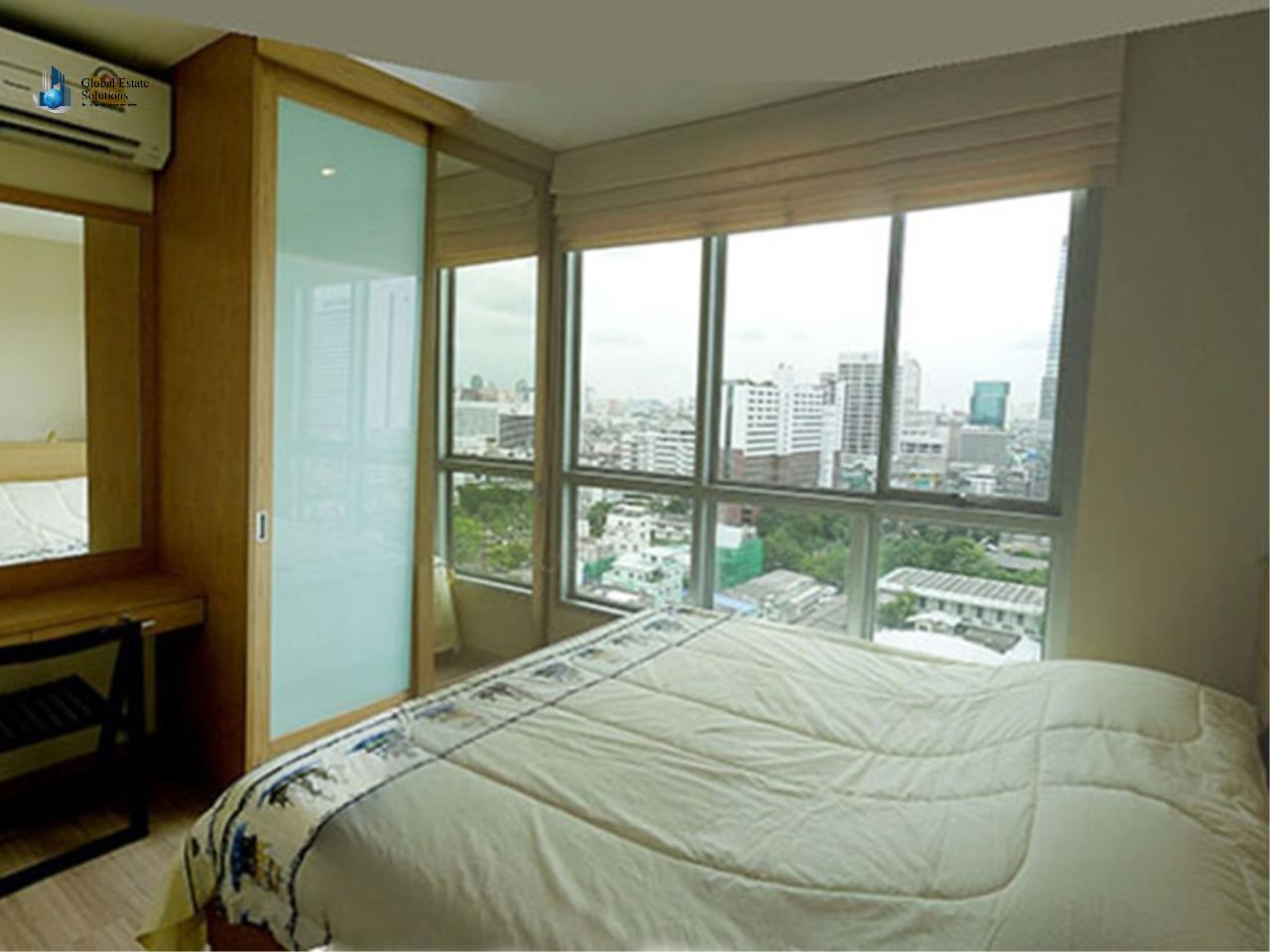 Global Estate Solutions Co., Ltd. Agency's One Bedroom Fully Furnished Unit For Rent in Life@Sathorn 10 3