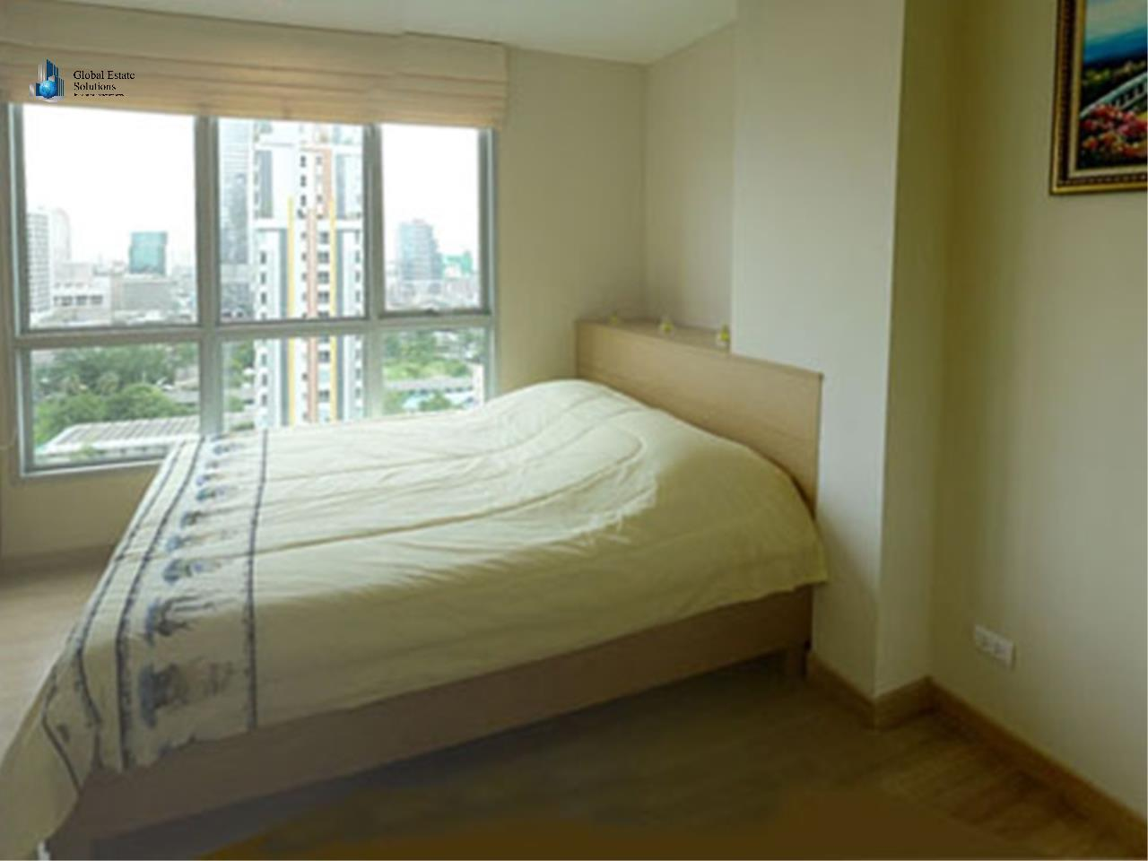 Global Estate Solutions Co., Ltd. Agency's One Bedroom Fully Furnished Unit For Rent in Life@Sathorn 10 4