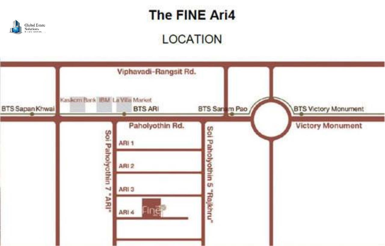 Bangkok Property Solutions Co., Ltd. Agency's The Fine 10