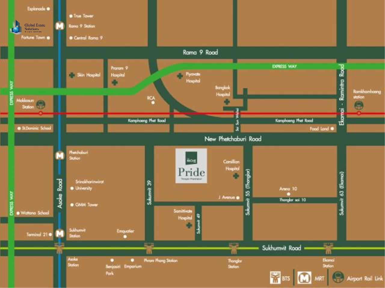 Bangkok Property Solutions Co., Ltd. Agency's The Niche Pride  5
