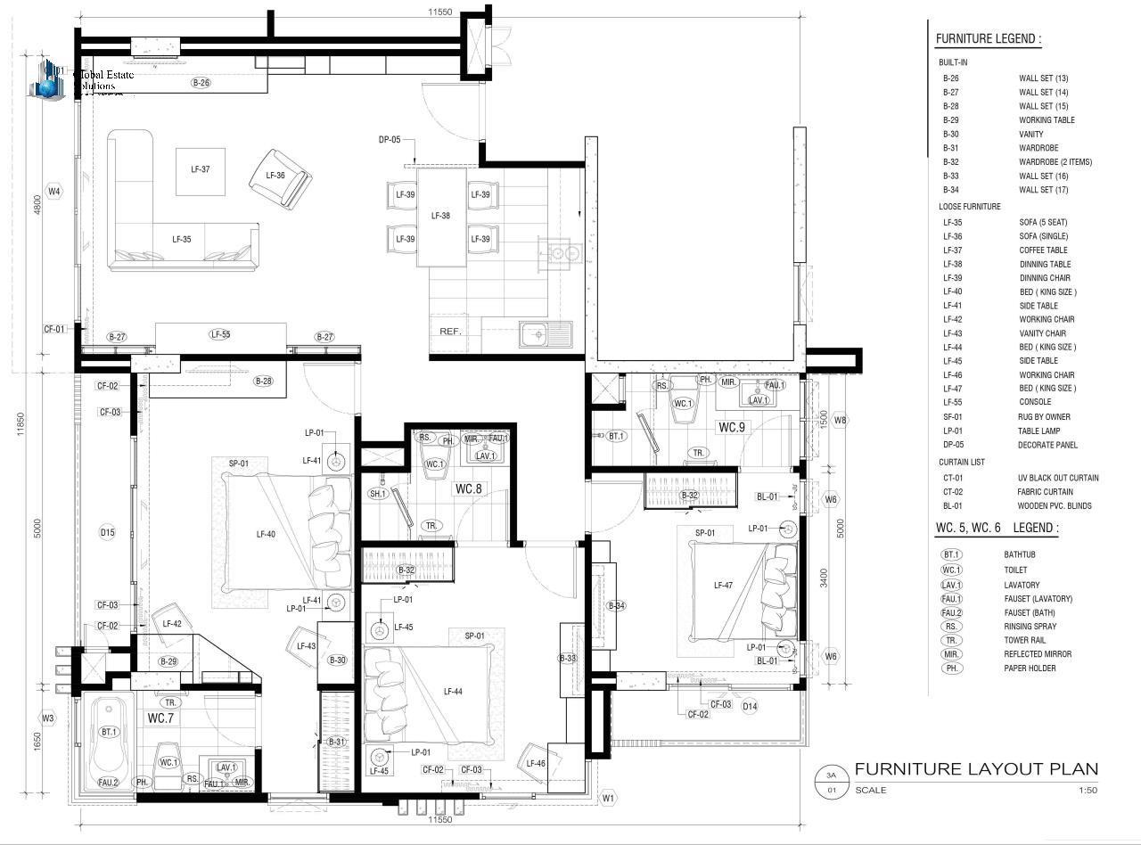 Global Estate Solutions Co., Ltd. Agency's Aashiana Sukhumvit 26 3
