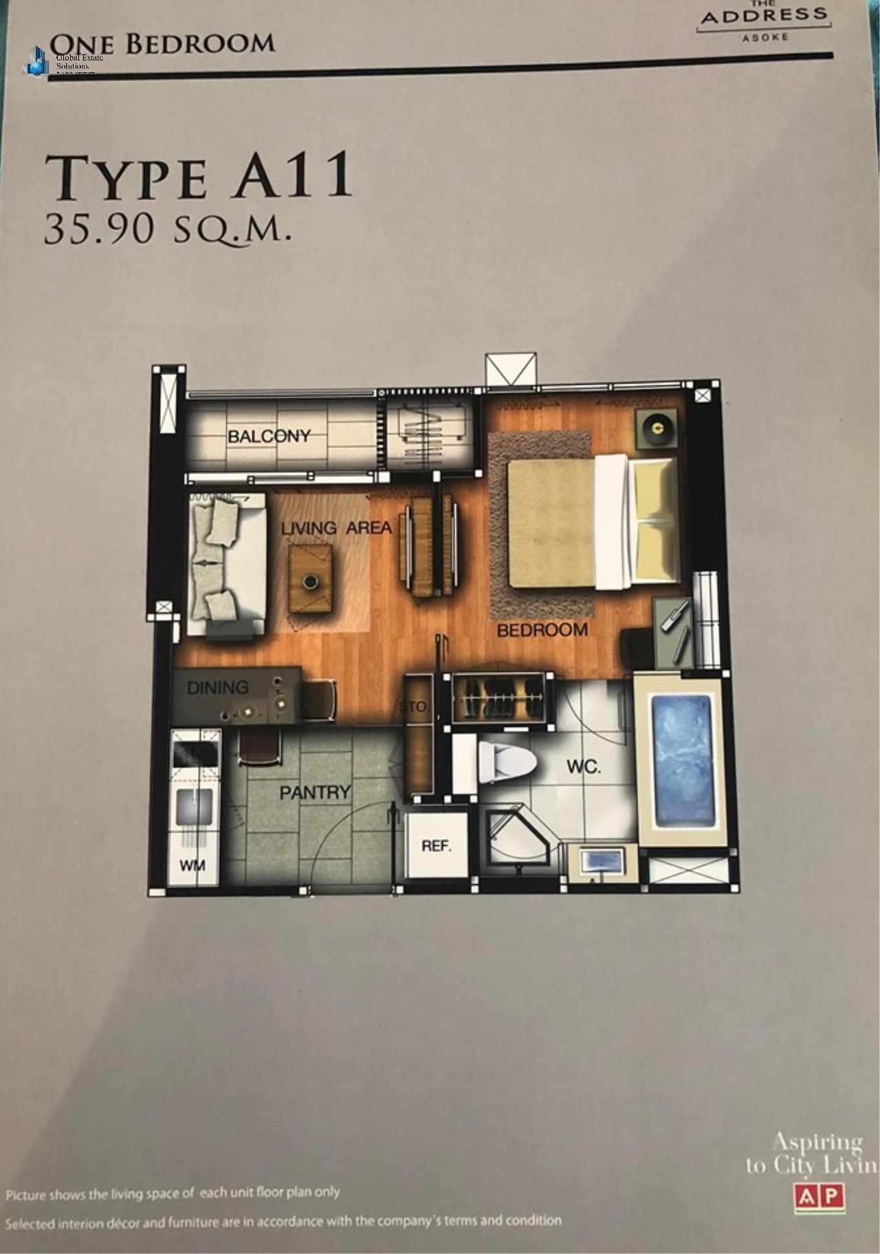 Bangkok Property Solutions Co., Ltd. Agency's The Address Asoke 12