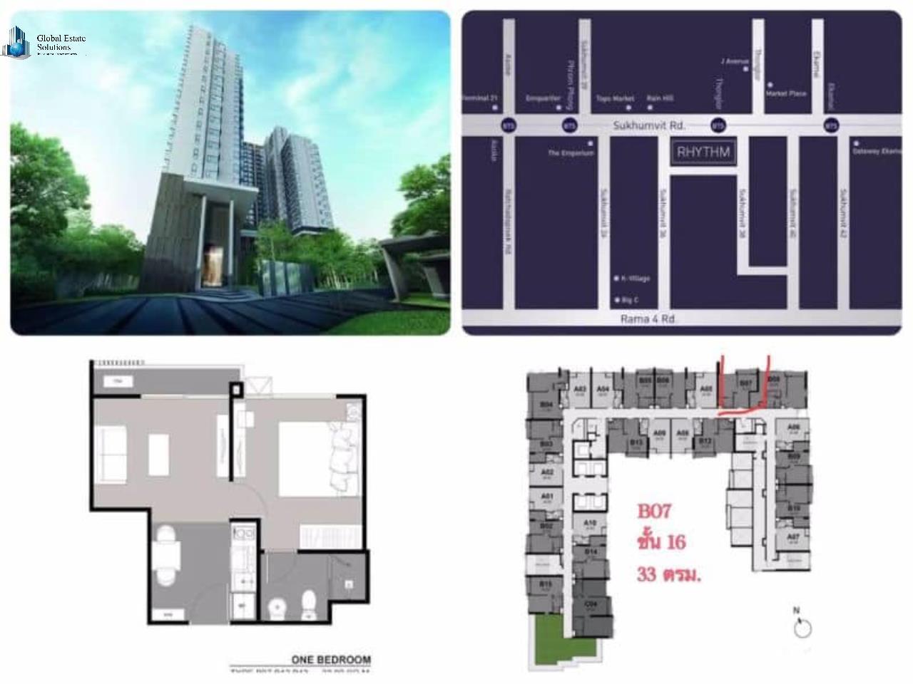Bangkok Property Solutions Co., Ltd. Agency's Rhythm Sukhumvit 36 - 38  8