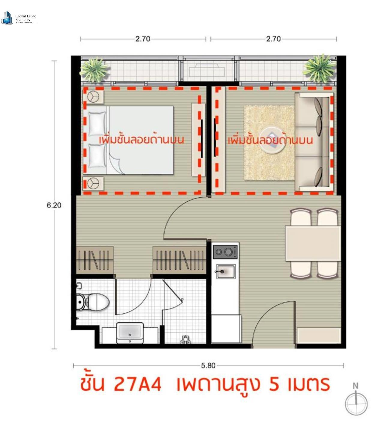 Bangkok Property Solutions Co., Ltd. Agency's Noble Recole 5