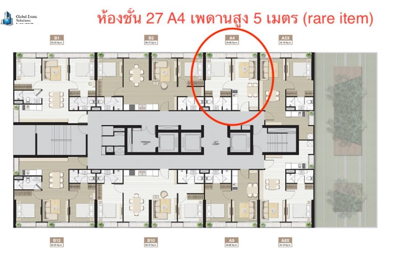 Bangkok Property Solutions Co., Ltd. Agency's Noble Recole 6