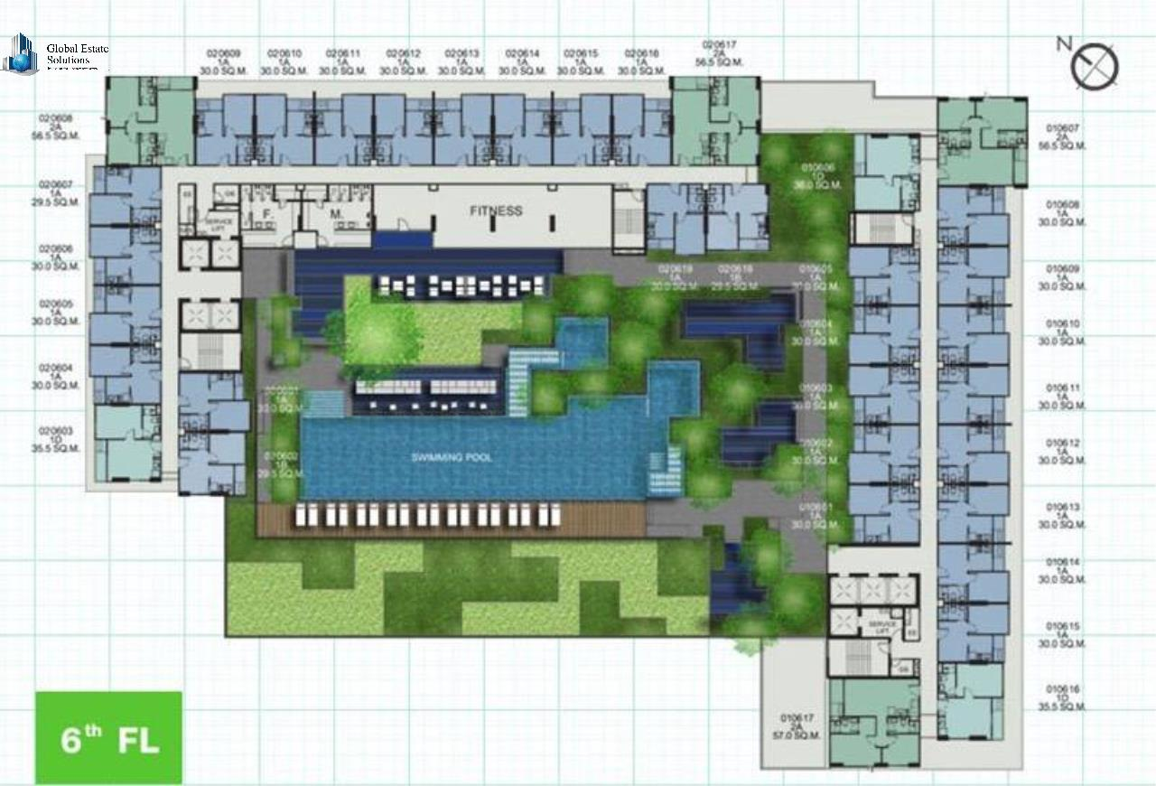 Bangkok Property Solutions Co., Ltd. Agency's The Base Sukhumvit 77 1