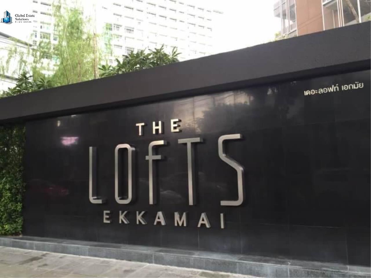 Bangkok Property Solutions Co., Ltd. Agency's The Lofts Ekamai 16