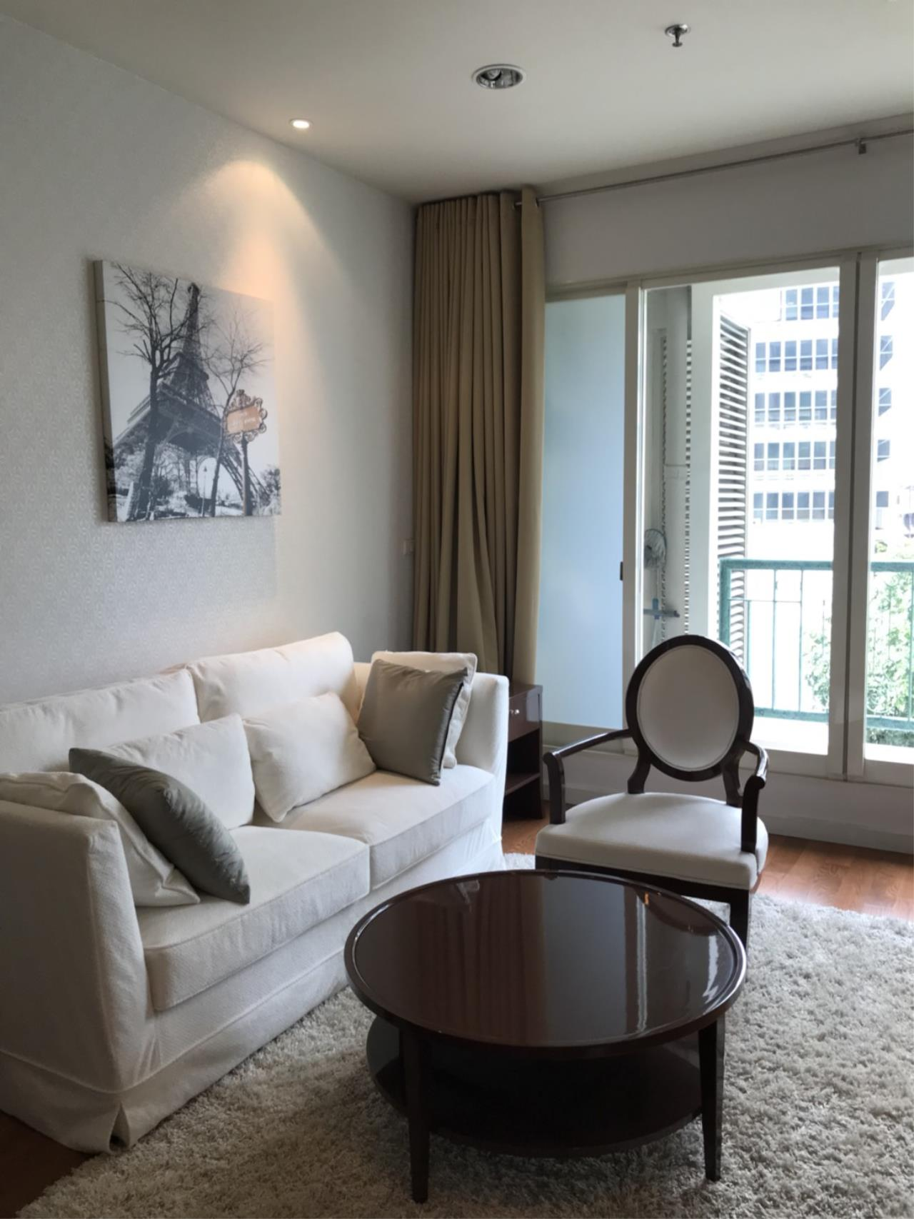 Agent - Aditep Pramorntat Agency's CONDO FOR RENT: THE ADDRESS CHIDLOM, 1 BEDROOM, 1BATHROOM, 56 SQM., FULLY FURNISHED 2