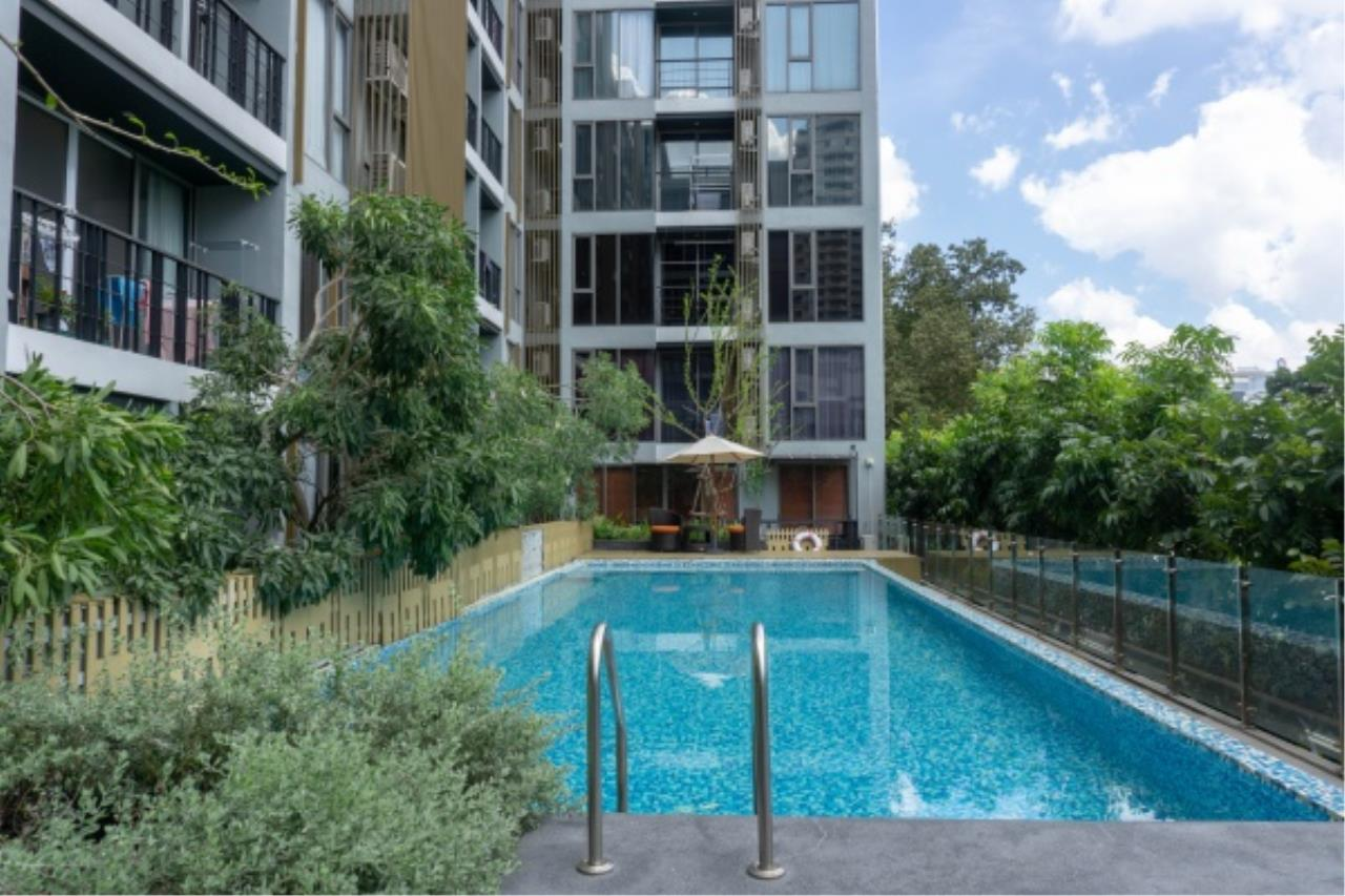 Agent - Aditep Pramorntat Agency's Klass Silom condo in Soi Silom 3 only 5 minutes to BTS, 1 bed 33 sq.m. Fully Furnished Ready to Move In 12