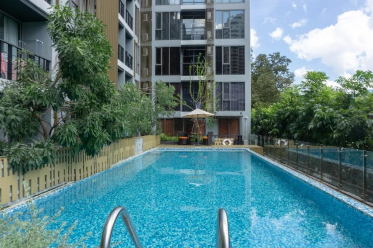 Agent - Aditep Pramorntat Agency's Klass Silom condo in Soi Silom 3 only 5 minutes to BTS, 1 bed 33 sq.m. Fully Furnished Ready to Move In 15