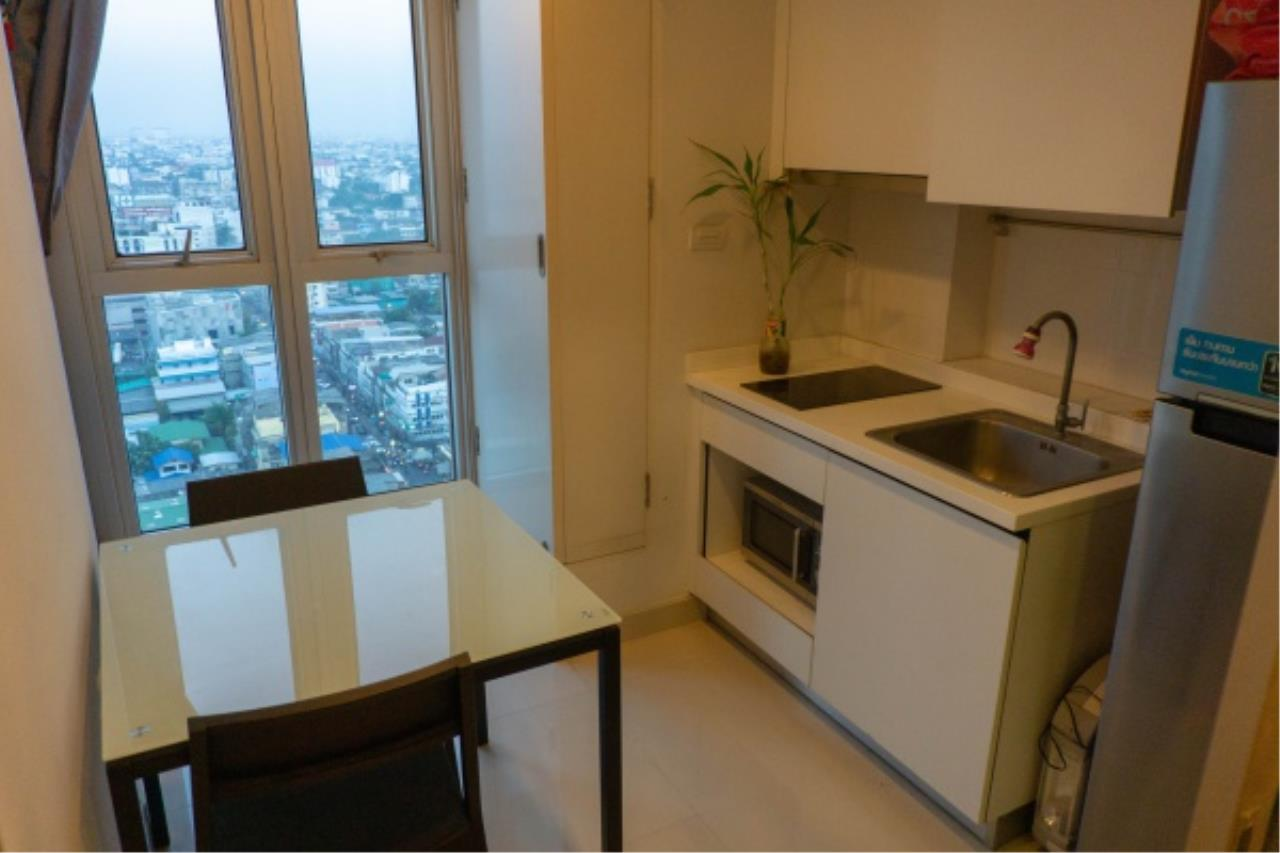 Agent - Aditep Pramorntat Agency's Condo for Sale: Centric Ratchada - Sutthisan at MRT Sutthisan, 23rd Floor 1 bedroom 32 sq.m. 10