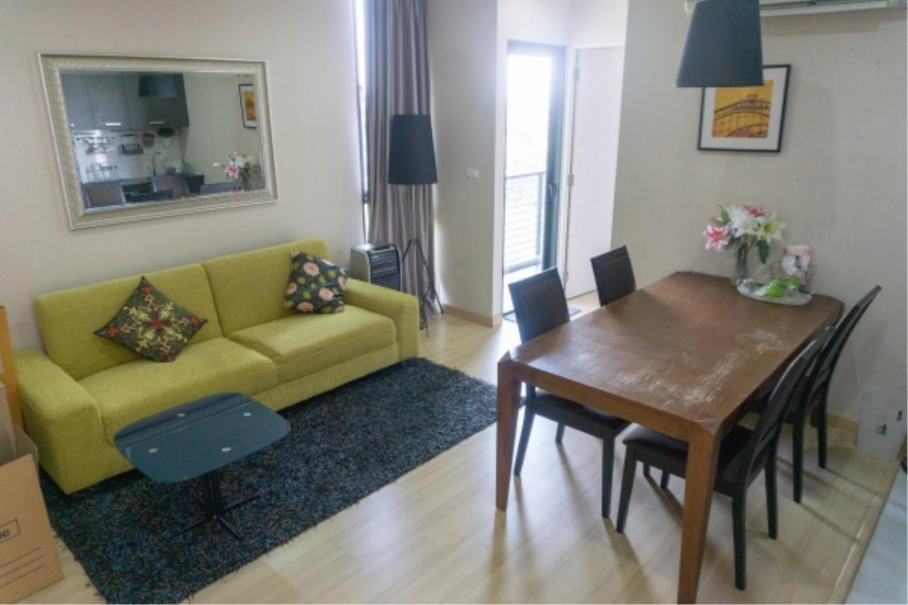 Agent - Aditep Pramorntat Agency's Condo For Sale: Apple Condo Sukhumvit 107,  1 bedroom, 54 sqm. only 51, xxx baht / sq.m., 5 min to BTS: Bearing Station Corner Unit, Fully Furnished 2