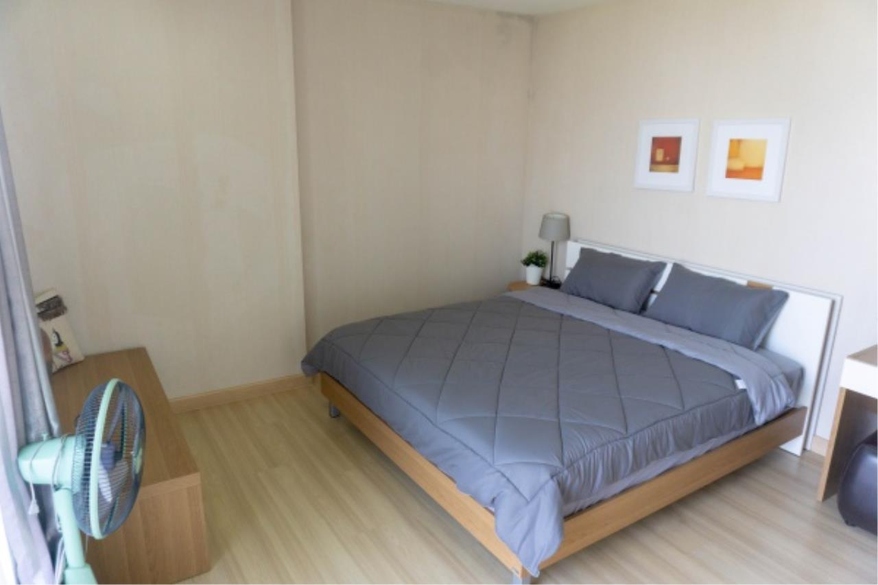 Agent - Aditep Pramorntat Agency's Condo For Sale: Apple Condo Sukhumvit 107,  1 bedroom, 54 sqm. only 51, xxx baht / sq.m., 5 min to BTS: Bearing Station Corner Unit, Fully Furnished 8