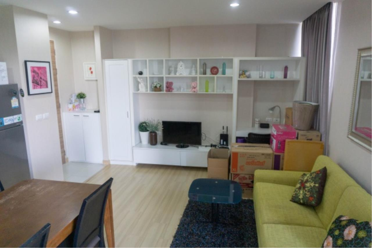 Agent - Aditep Pramorntat Agency's Condo For Sale: Apple Condo Sukhumvit 107,  1 bedroom, 54 sqm. only 51, xxx baht / sq.m., 5 min to BTS: Bearing Station Corner Unit, Fully Furnished 7