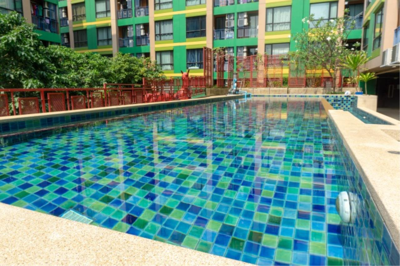 Agent - Aditep Pramorntat Agency's Condo for Sell / rent : G Style condo near MRT Huay Kwang, 1 bedroom, 27 sq.m. 12