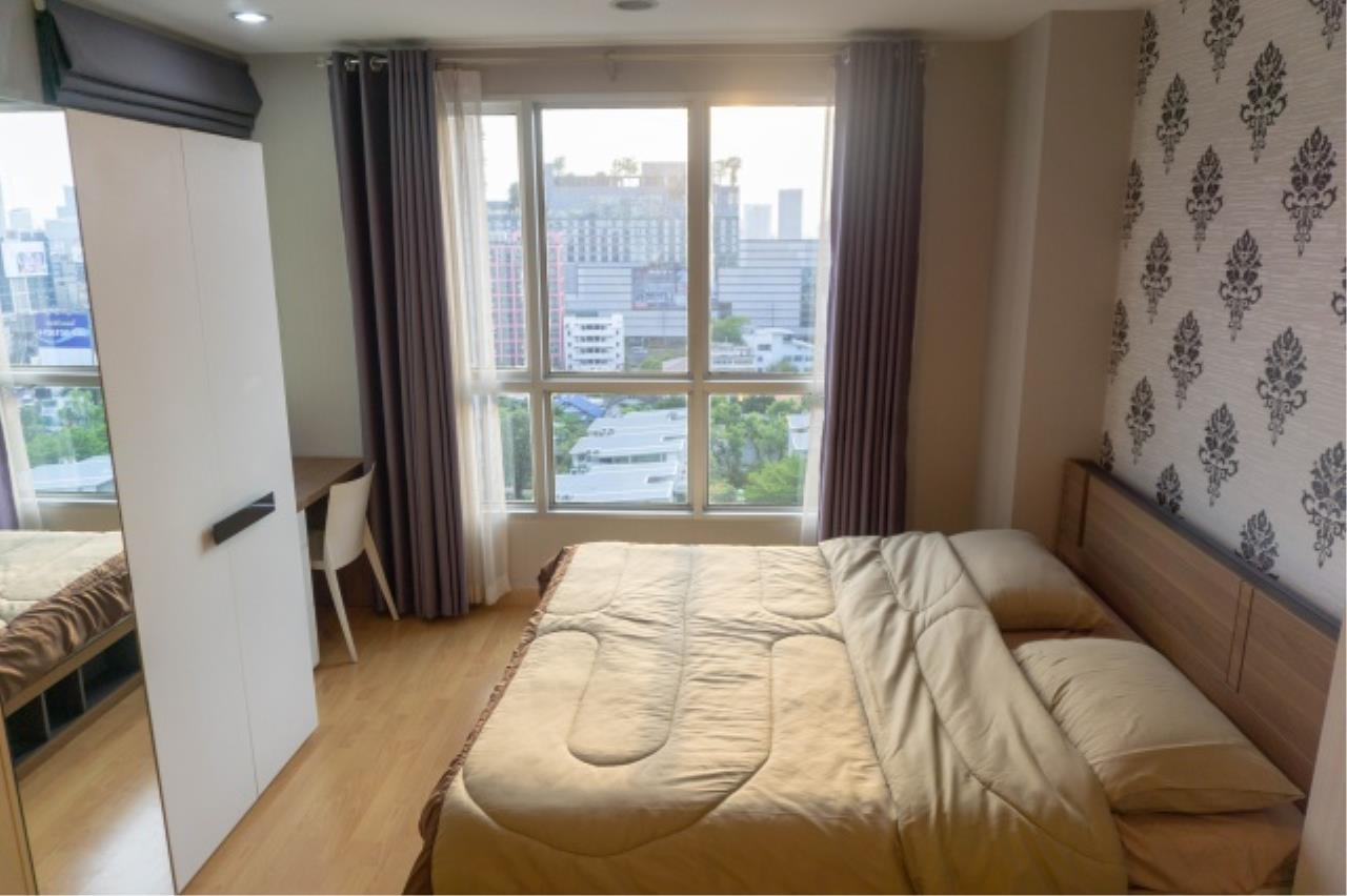 Agent - Aditep Pramorntat Agency's Condo for sale: Life@ratchada, Ladprao 36, just 500 m. from MRT Lat Phrao, Studio 35 sqm. Fully furnished 9
