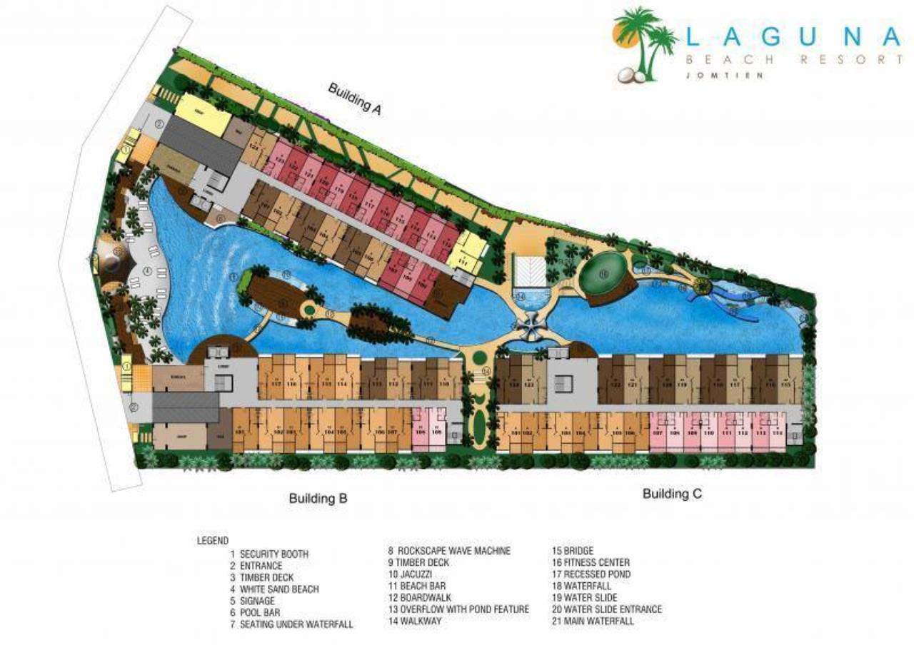 Real Estate in Pattaya Agency's 1 Bed Room - Laguna Beach Resort 3