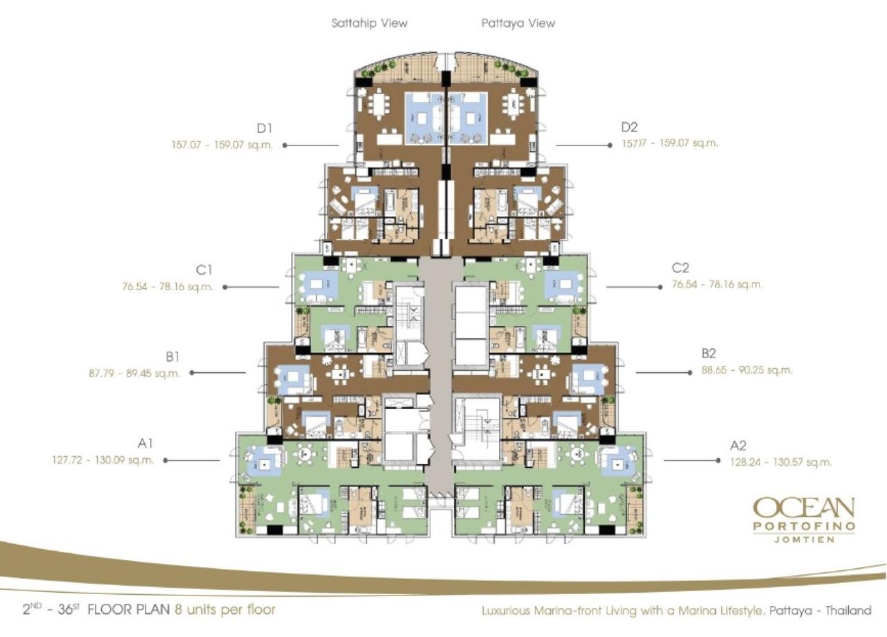 Real Estate in Pattaya Agency's 1 Bed Room - Ocean Portofino 5