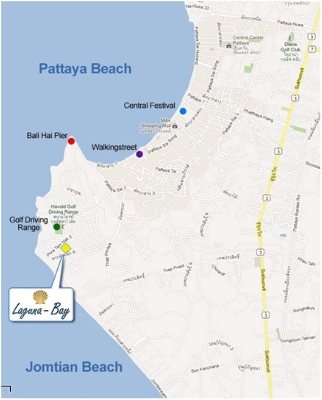 Real Estate in Pattaya Agency's Studio - Laguna Bay 9