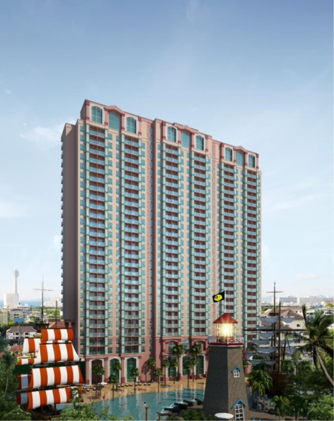 Real Estate in Pattaya Agency's 1 Bed Room - Grand Caribbean Tower 4