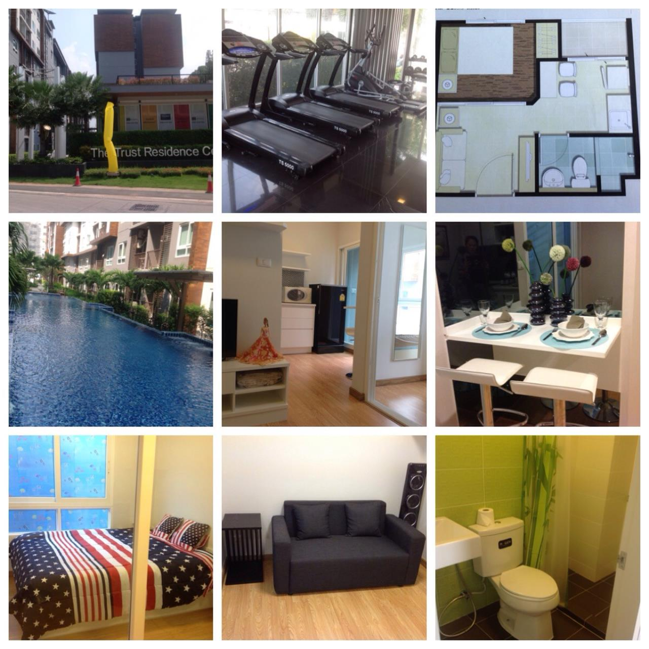 Real Estate in Pattaya Agency's 1 Bed Room - Trust Residence 2