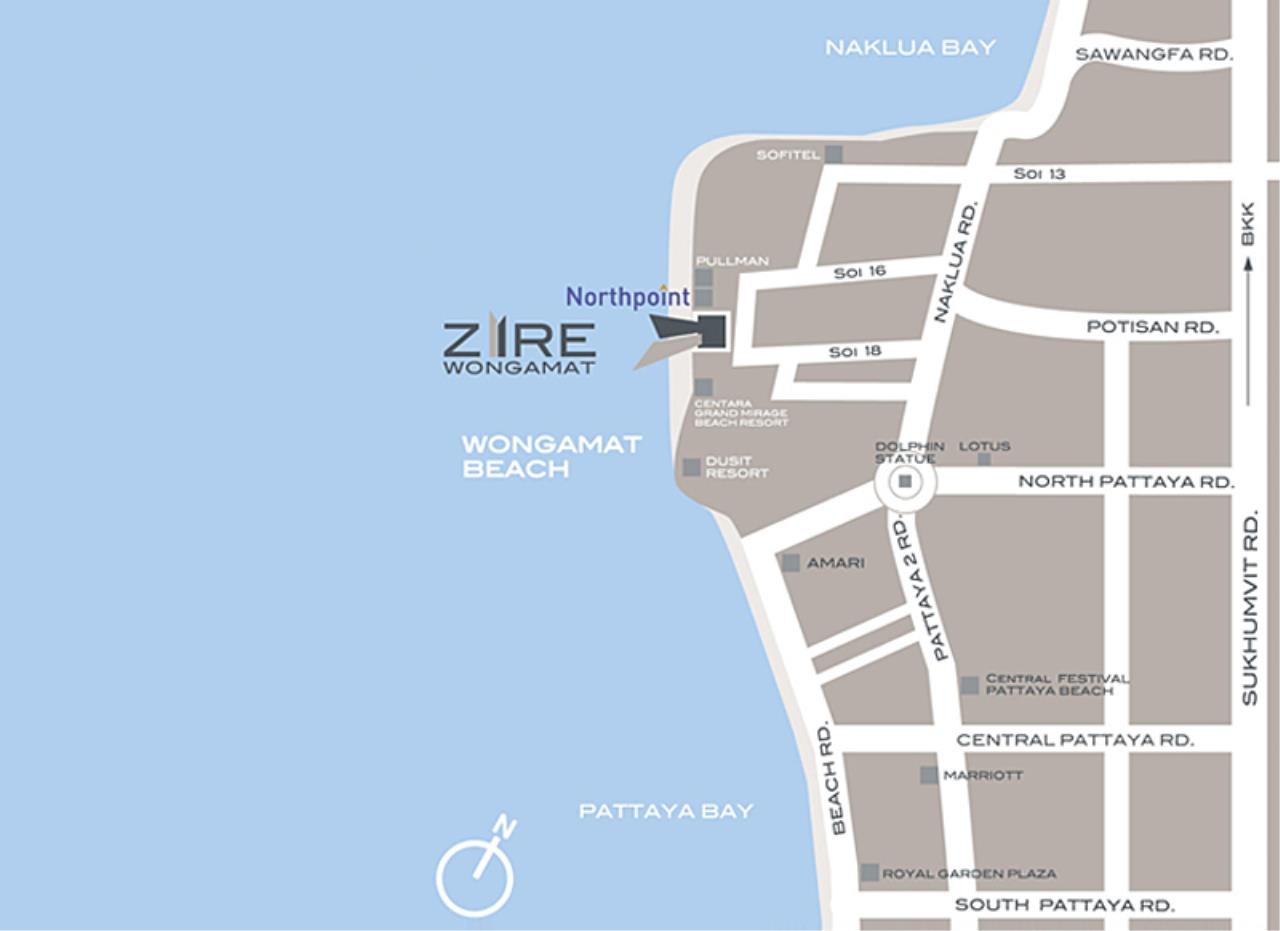 Real Estate in Pattaya Agency's 1 Bed Room - Zire Wongamat 2