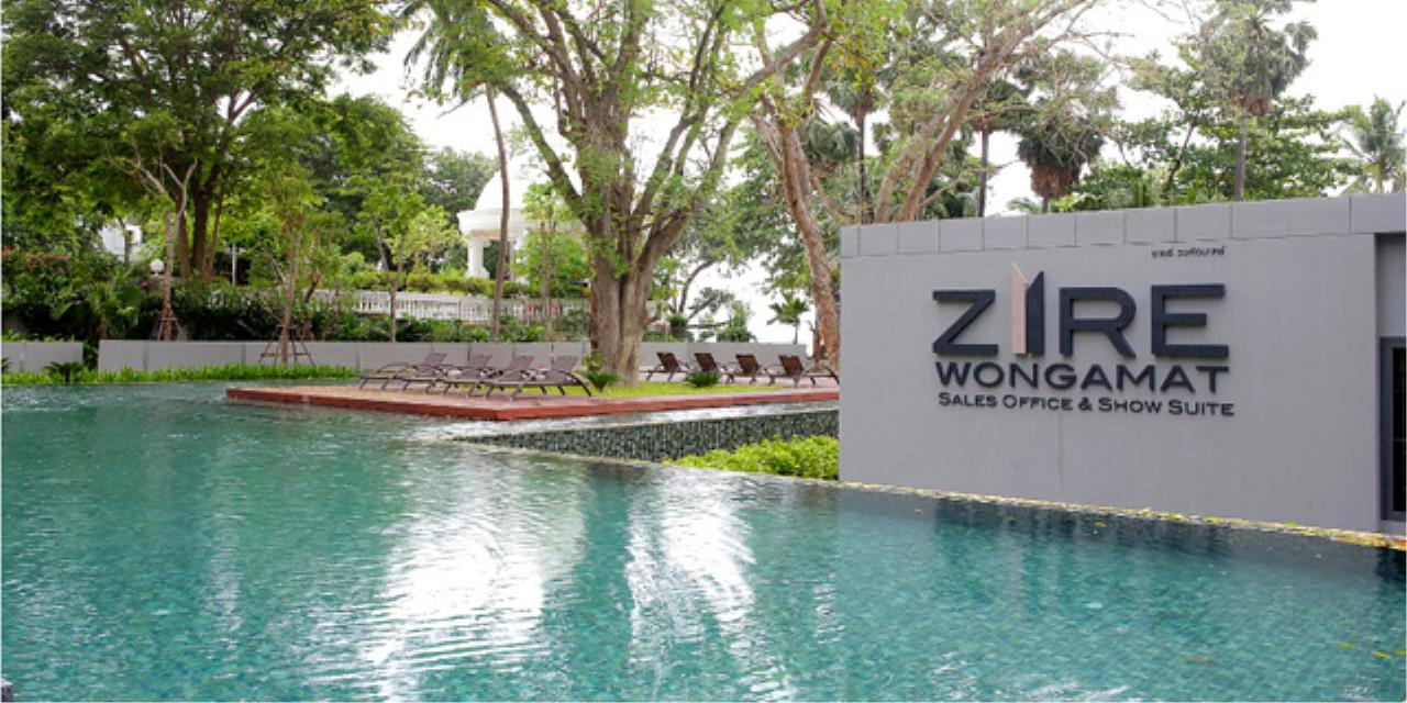 Real Estate in Pattaya Agency's 1 Bed Room - Zire Wongamat 1