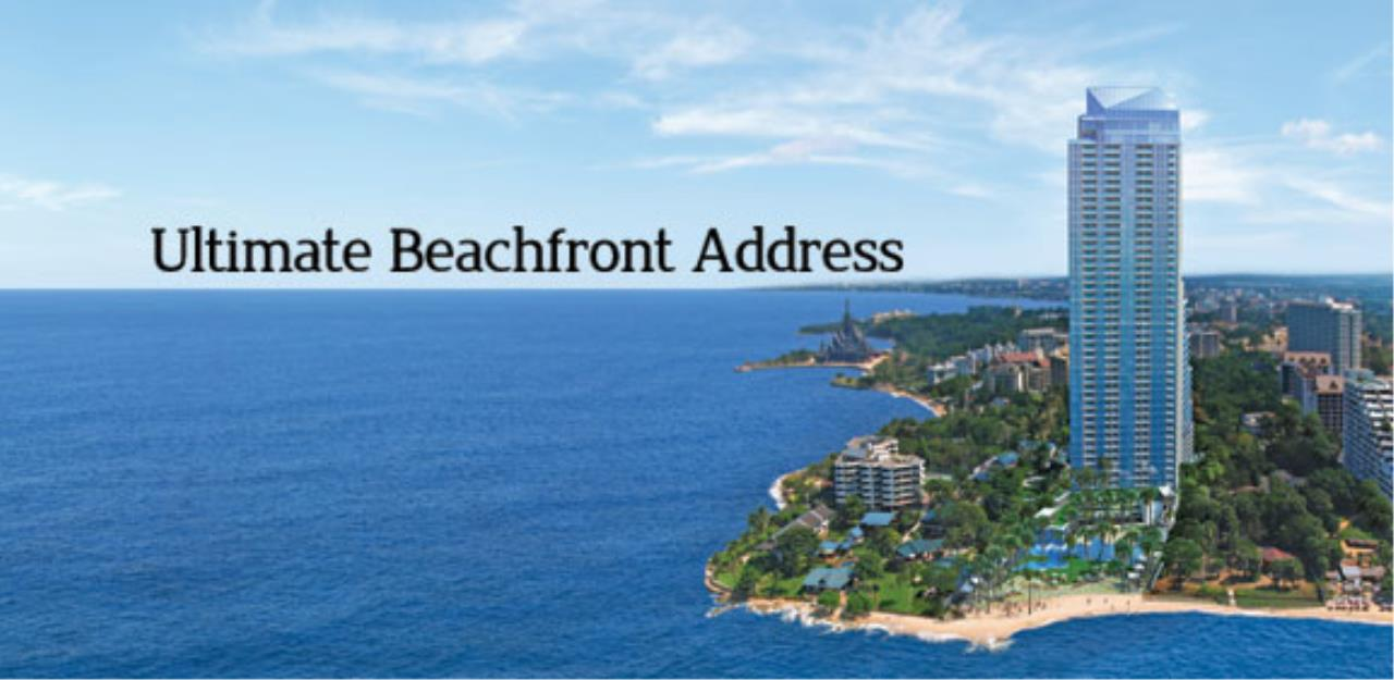 Real Estate in Pattaya Agency's 1 Bed Room - The Palm Wongamat 1