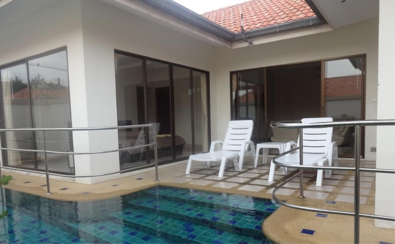 Real Estate in Pattaya Agency's 2 Bed Room Pool Villa - Pratamnuk Hill 7