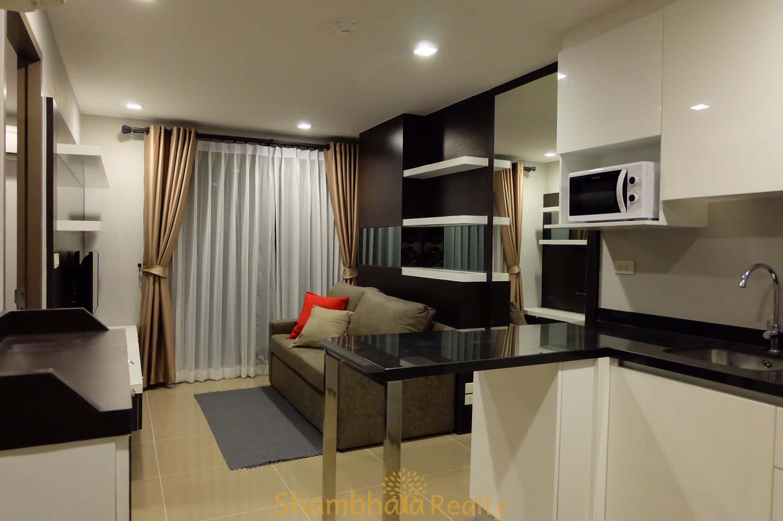 Shambhala Realty Agency's Mirage Condo For Rent, BTS Asoke 9